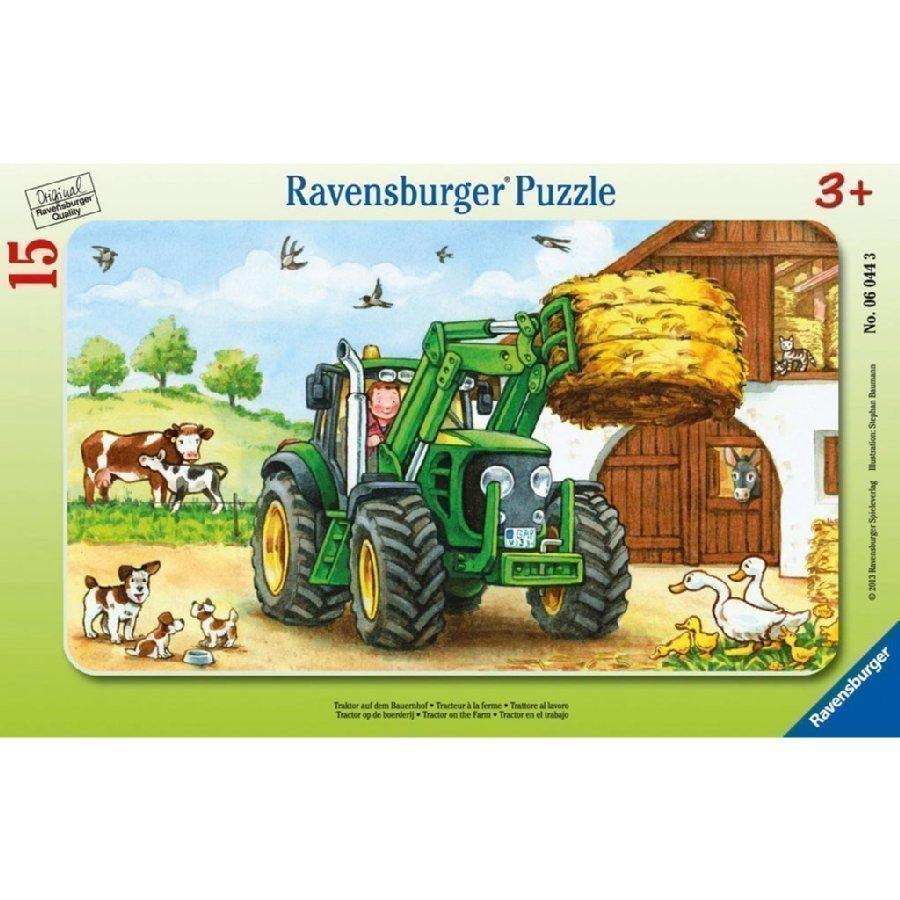 Ravensburger Palapeli Traktori Maatilalla 06044