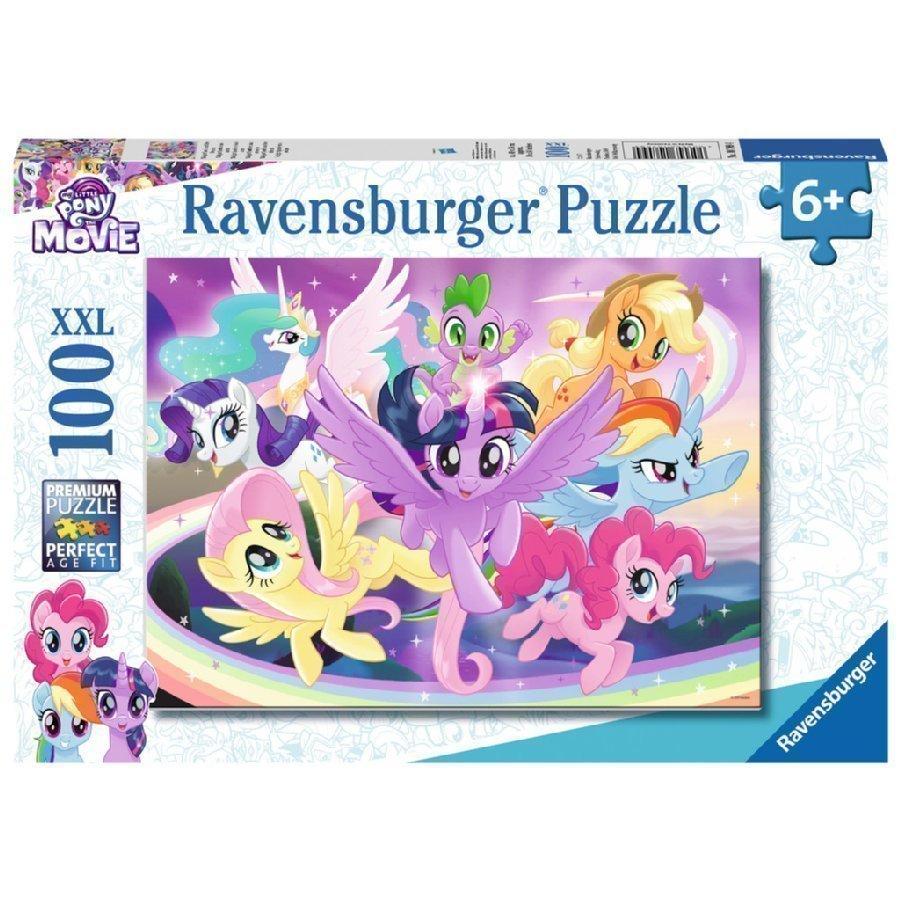 Ravensburger Xxl Palapeli 100 Palaa My Little Ponys Twilight Sparkle Ystävineen