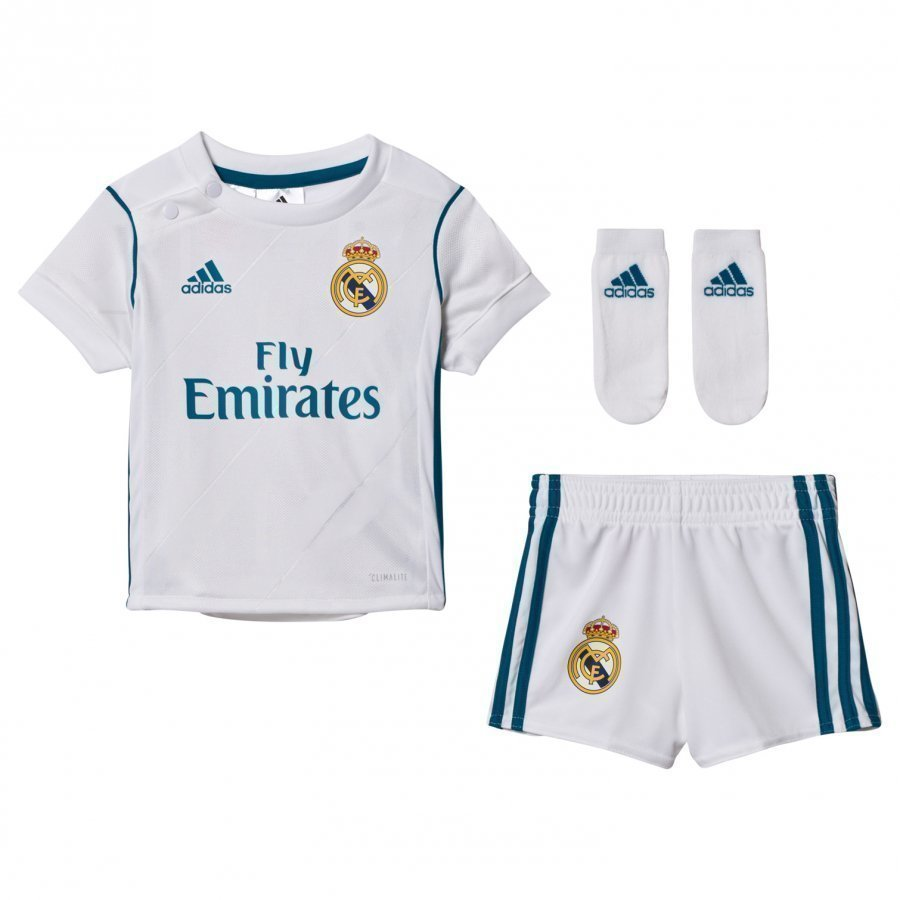 Real Madrid Cf ´17 Baby Home Kit Jalkapalloasu