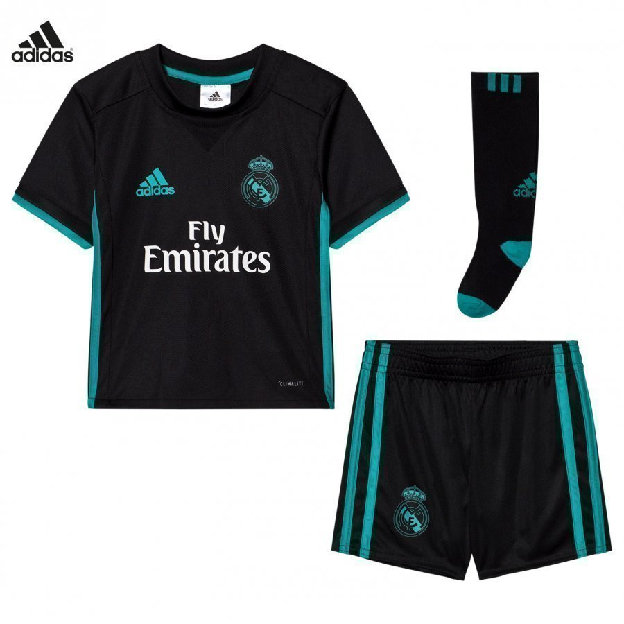 Real Madrid Cf ´17 Kids Away Set Jalkapalloasu