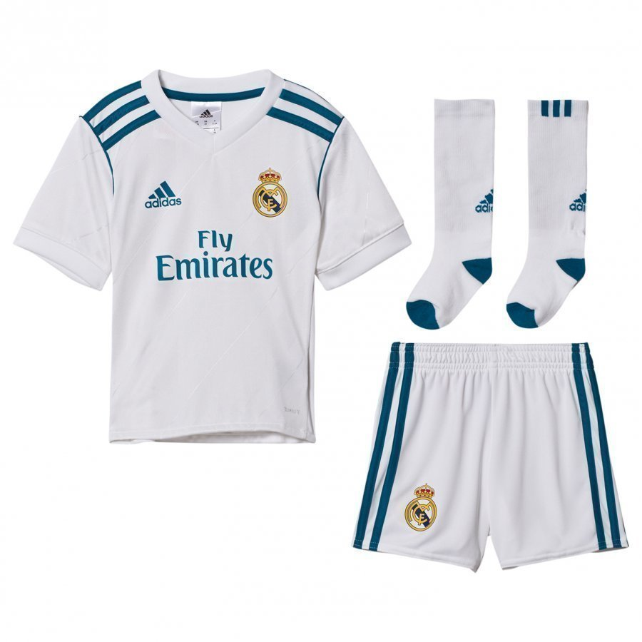 Real Madrid Cf ´17 Kids Home Kit Jalkapalloasu