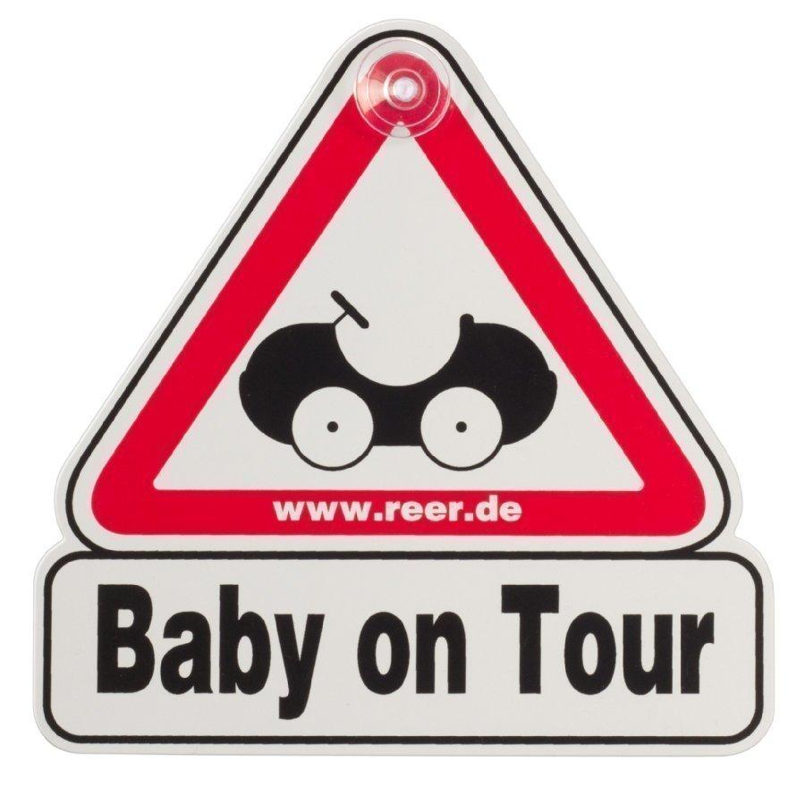 Reer Baby On Tour Kyltti Autoon
