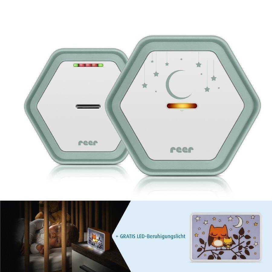 Reer Itkuhälytin Beeconnect Digital Vihreä / Valkoinen