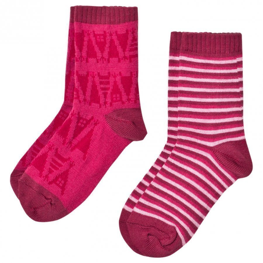 Reima 2-Pack Socks Strum Pink Sukat