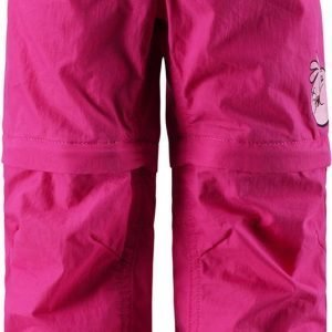 Reima Angry Birds Zip-Off Pants Katkolahjehousut Pinkki