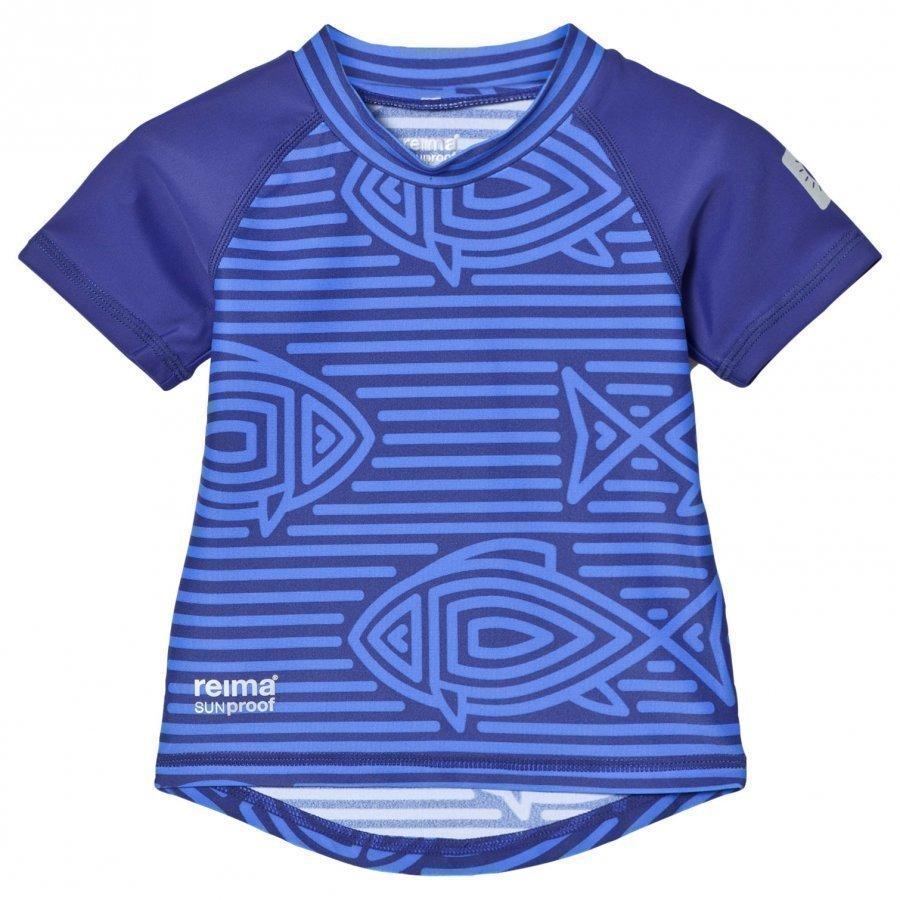 Reima Azores Swim Shirt Blue Uv-Paita