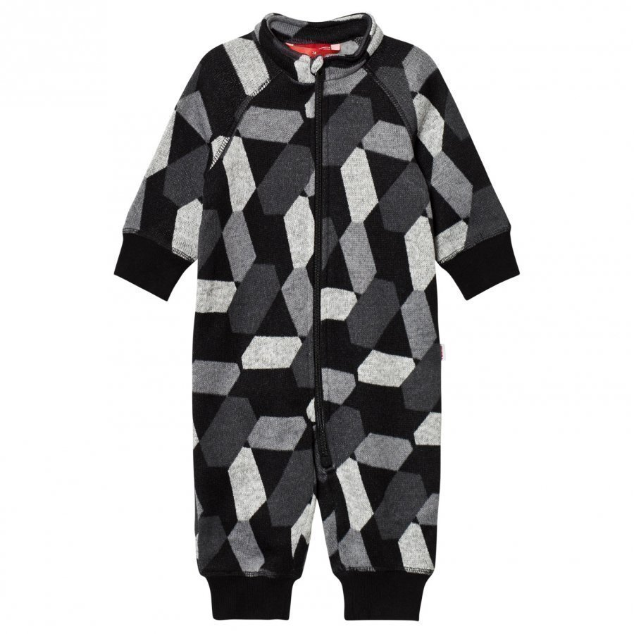 Reima Coverall Myytti Black Fleece Haalarit