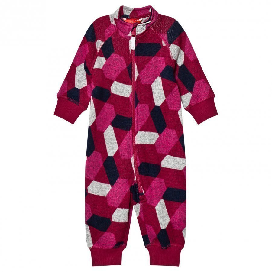 Reima Coverall Myytti Dark Berry Fleece Haalarit