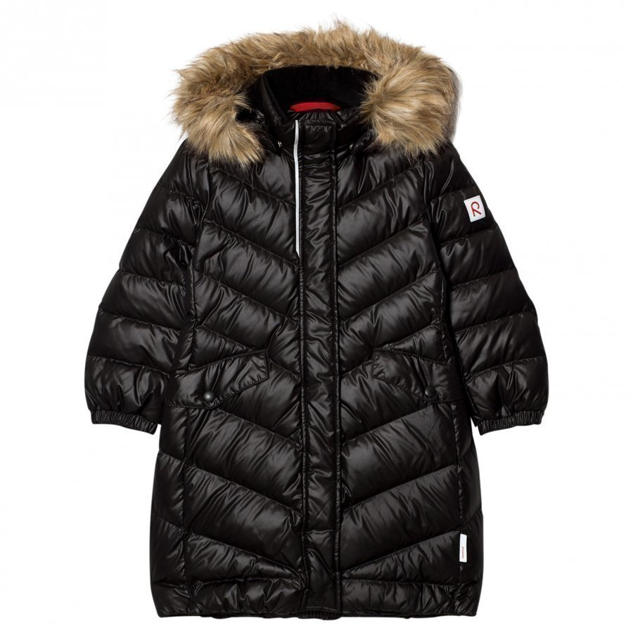 Reima Down Jacket Satu Black Toppatakki