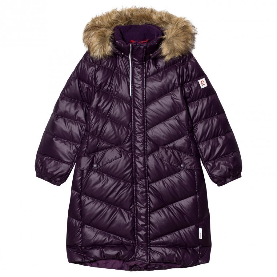 Reima Down Jacket Satu Deep Violet Toppatakki