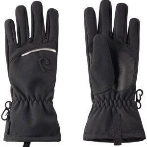 Reima Eriste Gloves Softshell Hanskat Musta