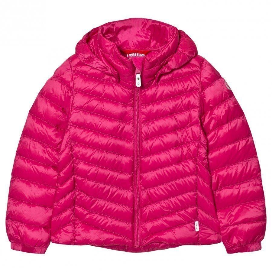 Reima Fern Down Jacket Pink Toppatakki