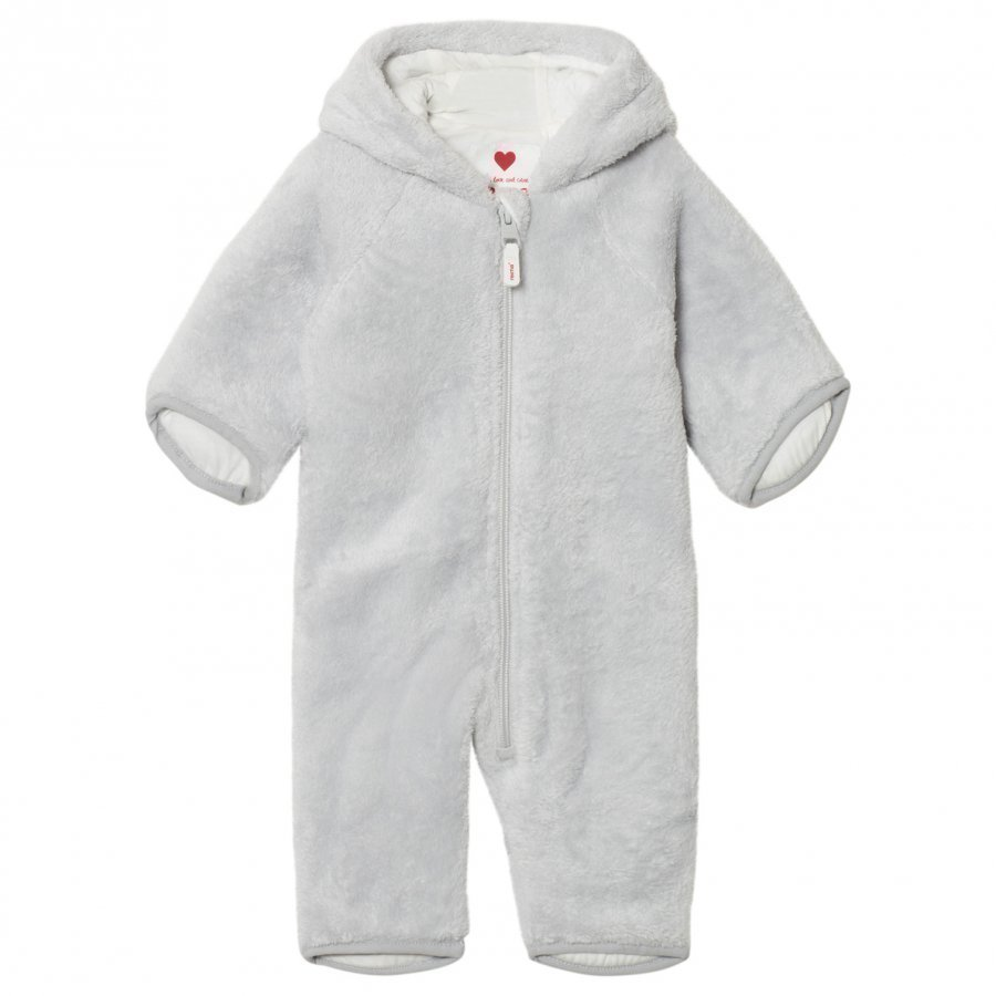 Reima Fleece Coverall Alku Light Grey Toppahaalari