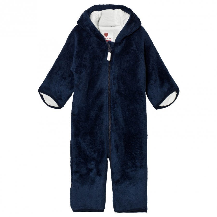 Reima Fleece Coverall Alku Navy Toppahaalari