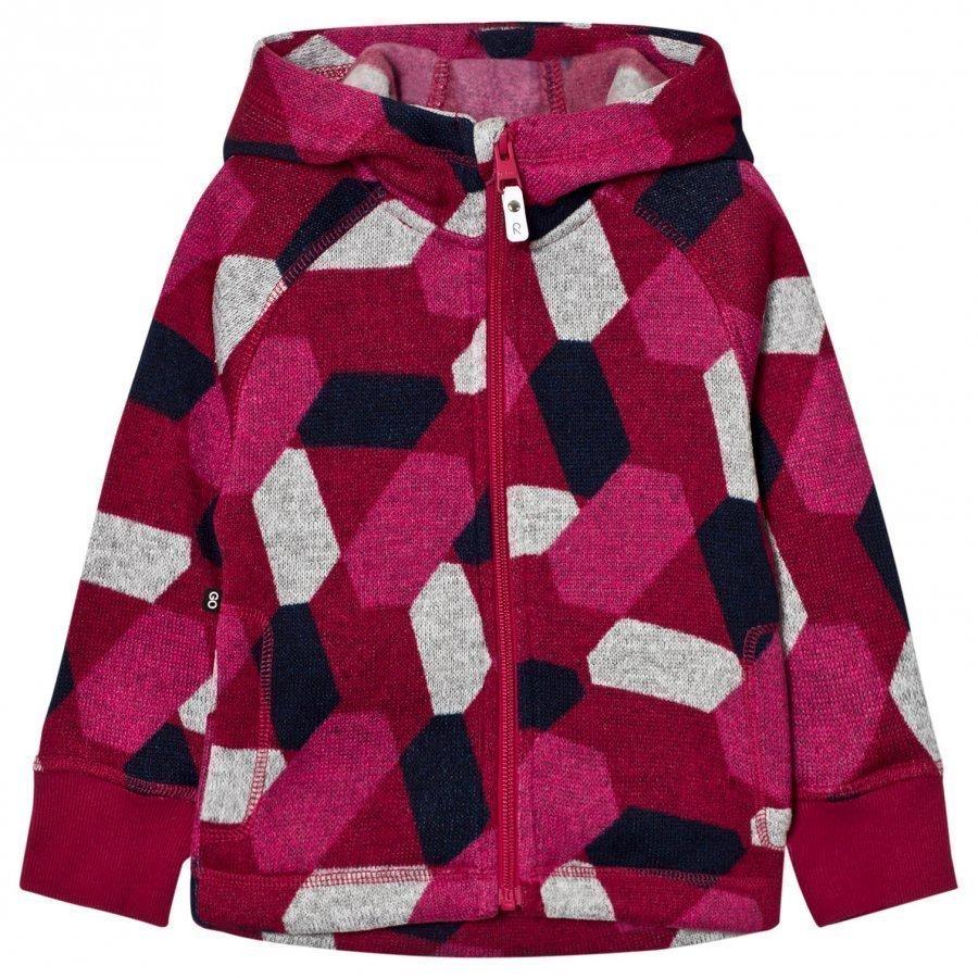 Reima Fleece Sweater Northern Dark Berry Fleece Huppari