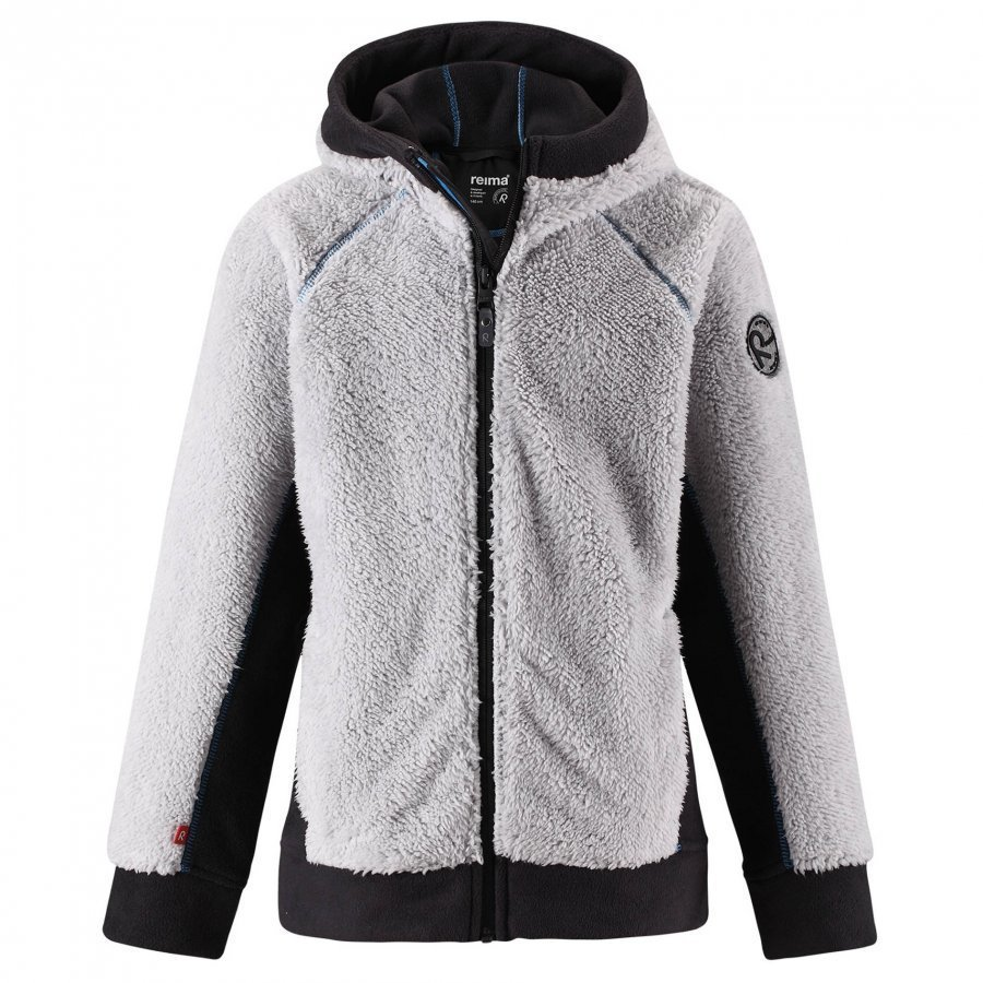 Reima Fleecejacka Morsel Light Melange Grey Fleece Takki