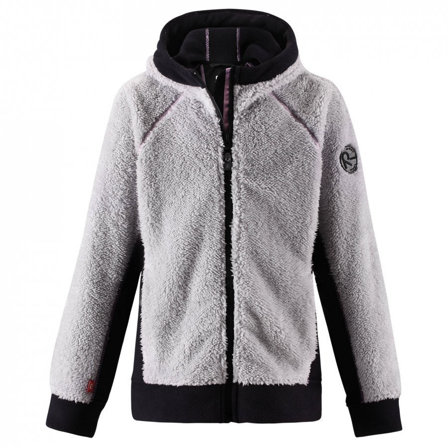 Reima Fleecejacka Root Light Melange Grey Fleece Takki