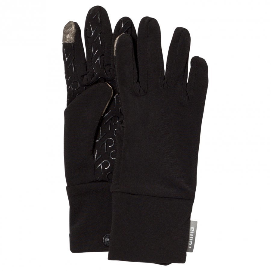 Reima Gloves Zinkenite Black Villahanskat