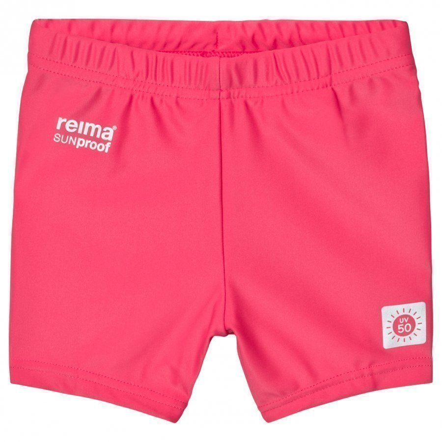 Reima Hawaii Swimming Trunks Strawberry Red Uimahousut