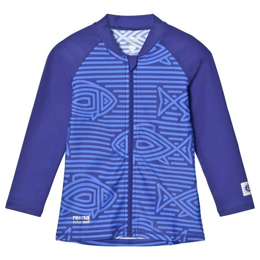 Reima Isla Swim Shirt Blue Uv-Paita