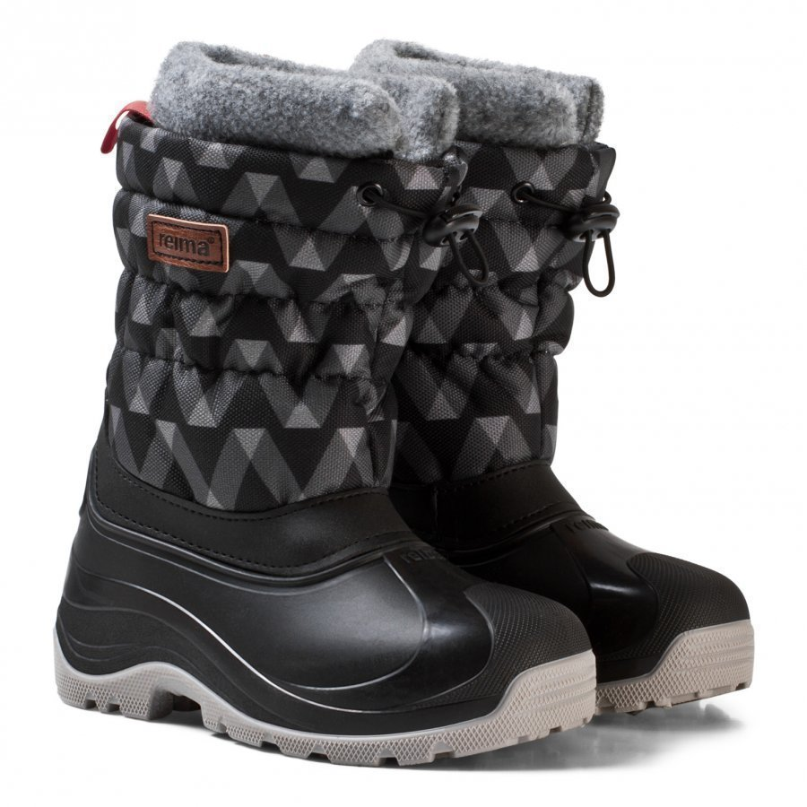 Reima Ivalo Winter Boots Black Talvisaappaat