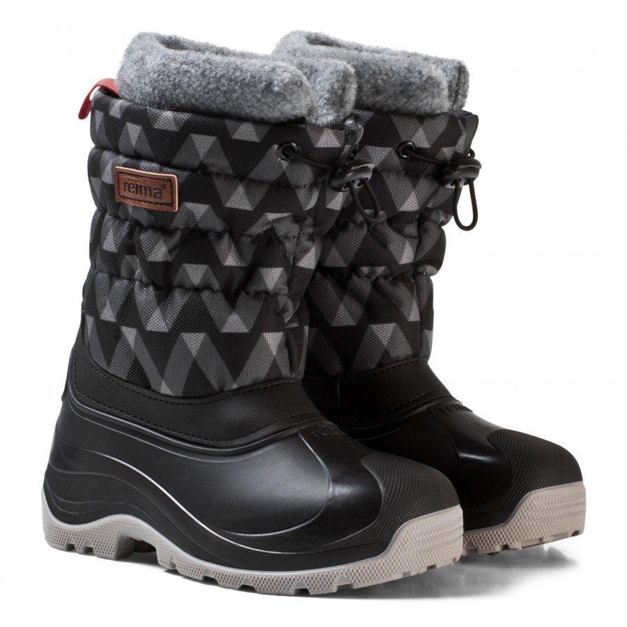 Reima Ivalo Winter Boots Black Talvisaappaat