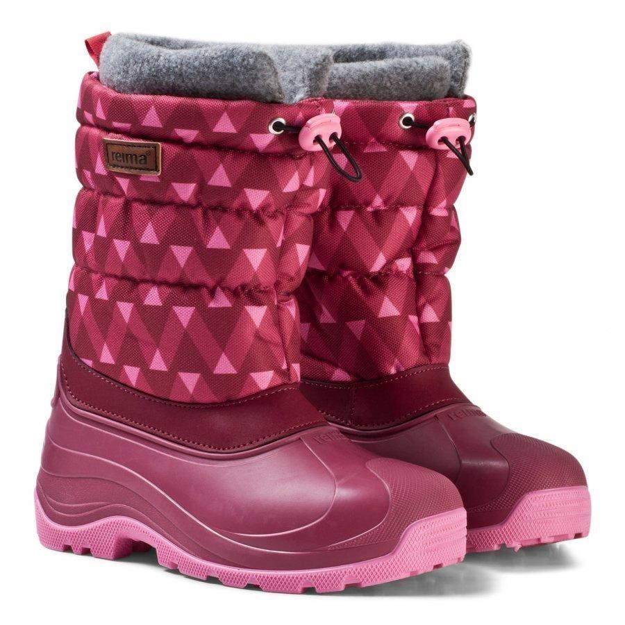 Reima Ivalo Winter Boots Dark Berry Talvisaappaat