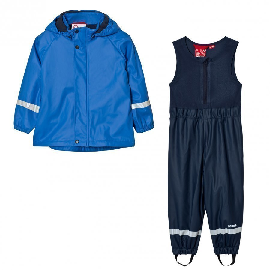 Reima Joki Rain Outfit Blue Sadesetti