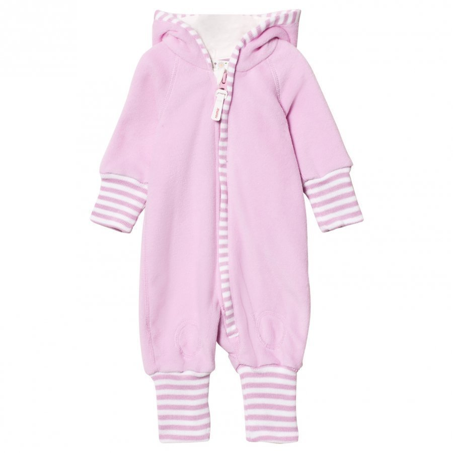 Reima Jolla Fleece Onesie Light Orchid Fleece Haalarit