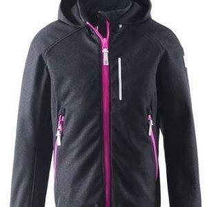 Reima Kaareva Jacket Softshell Takki Musta