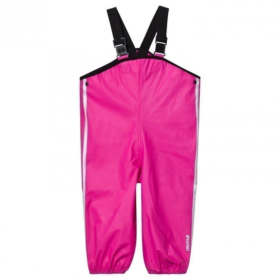 Reima Lammikko Rain Pants Pink Sadehousut
