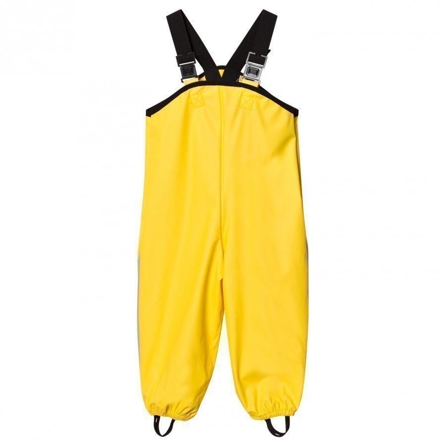 Reima Lammikko Rain Pants Yellow Sadehousut