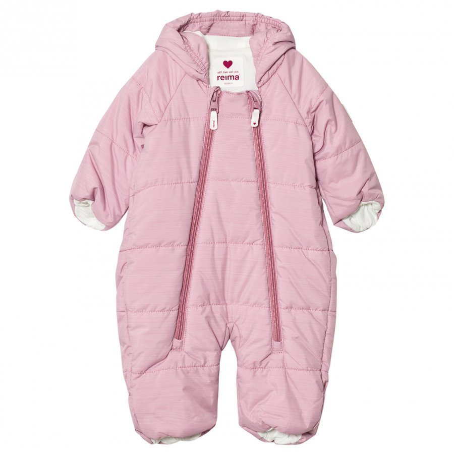 Reima Lumikko Coverall Dusty Rose Toppahaalari