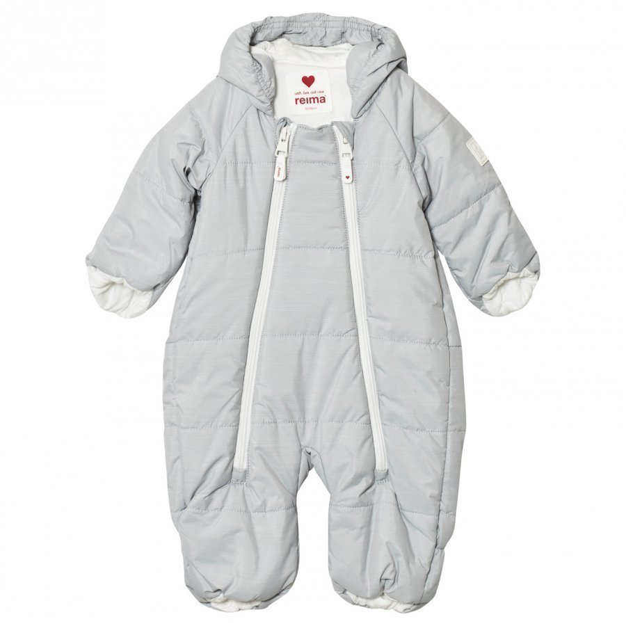 Reima Lumikko Coverall Light Grey Toppahaalari
