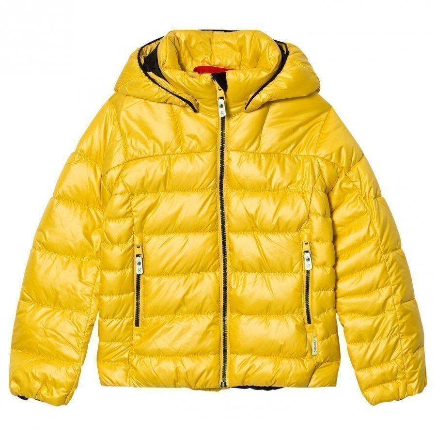 Reima Maija Winter Jacket Yellow Toppatakki