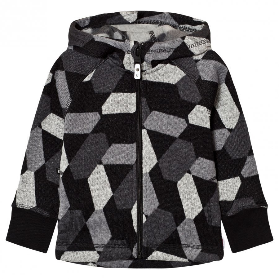 Reima Northern Fleece Sweater Black Fleece Huppari