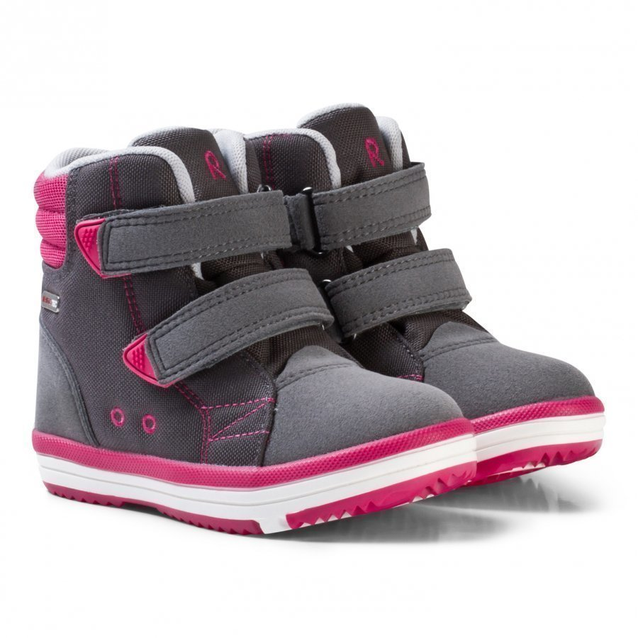 Reima Patter Reimatec Shoes Soft Grey Korkeavartiset Kengät