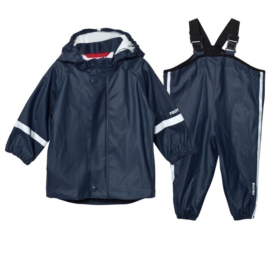 Reima Rain Outfit Tihku Navy Sadesetti