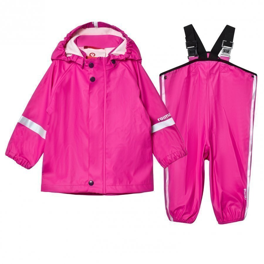 Reima Rain Outfit Tihku Pink Sadesetti