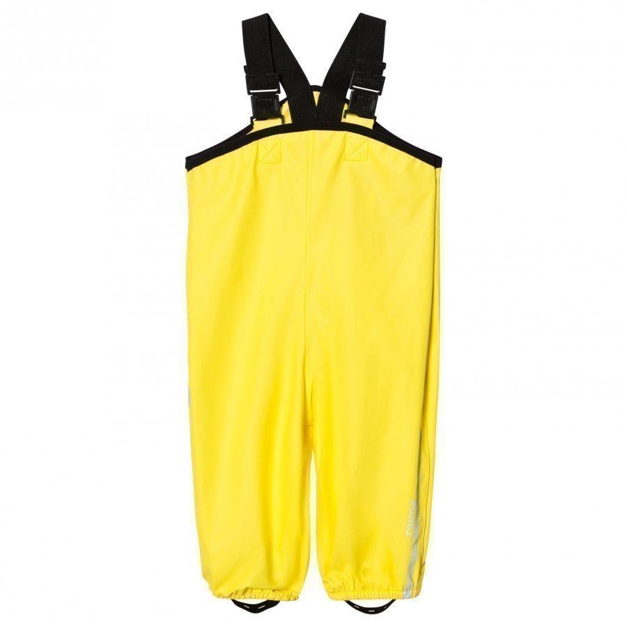 Reima Rain Pants Lammikko Yellow Sadehousut