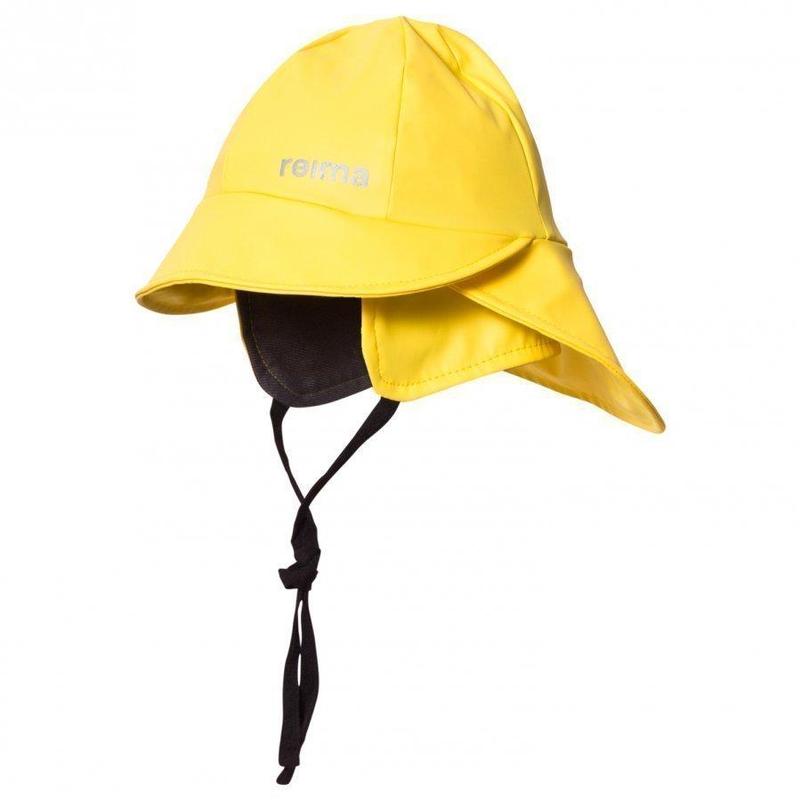 Reima Rainy Rain Hat Yellow Sadehattu
