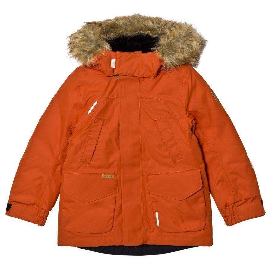 Reima Reimatec Down Jacket Serkku Foxy Orange Toppatakki