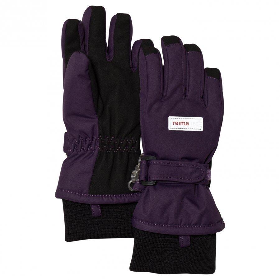 Reima Reimatec Gloves Tartu Deep Violet Fleece Hanskat