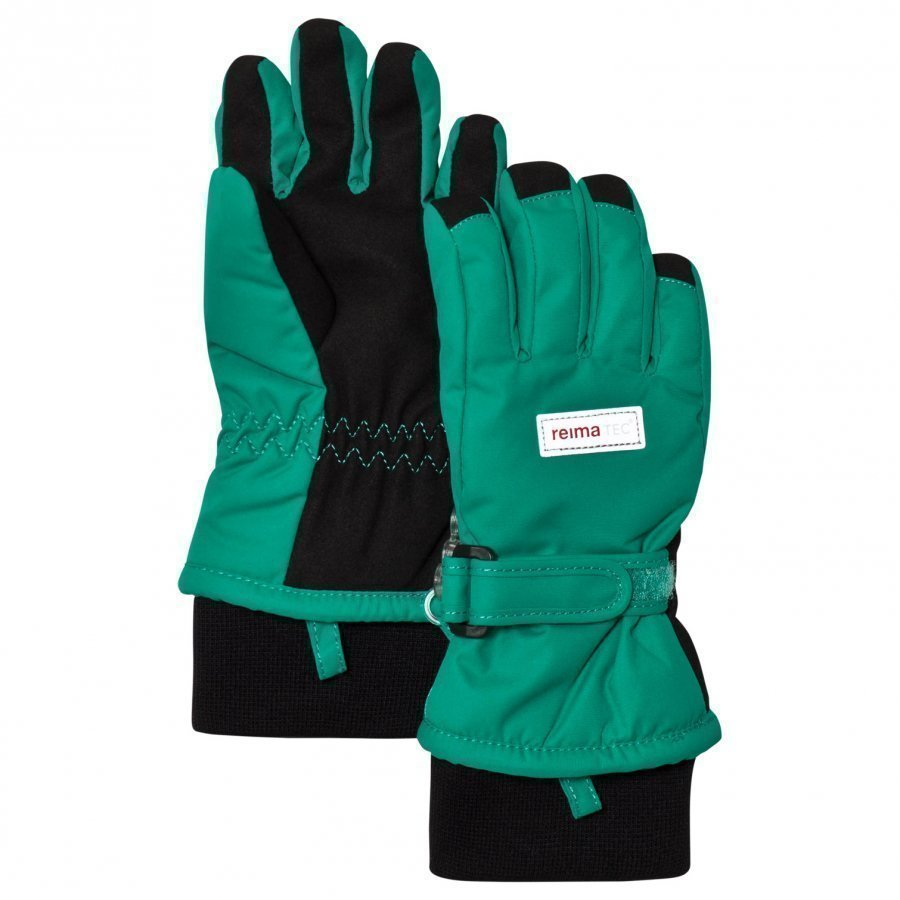Reima Reimatec Gloves Tartu Green Fleece Hanskat