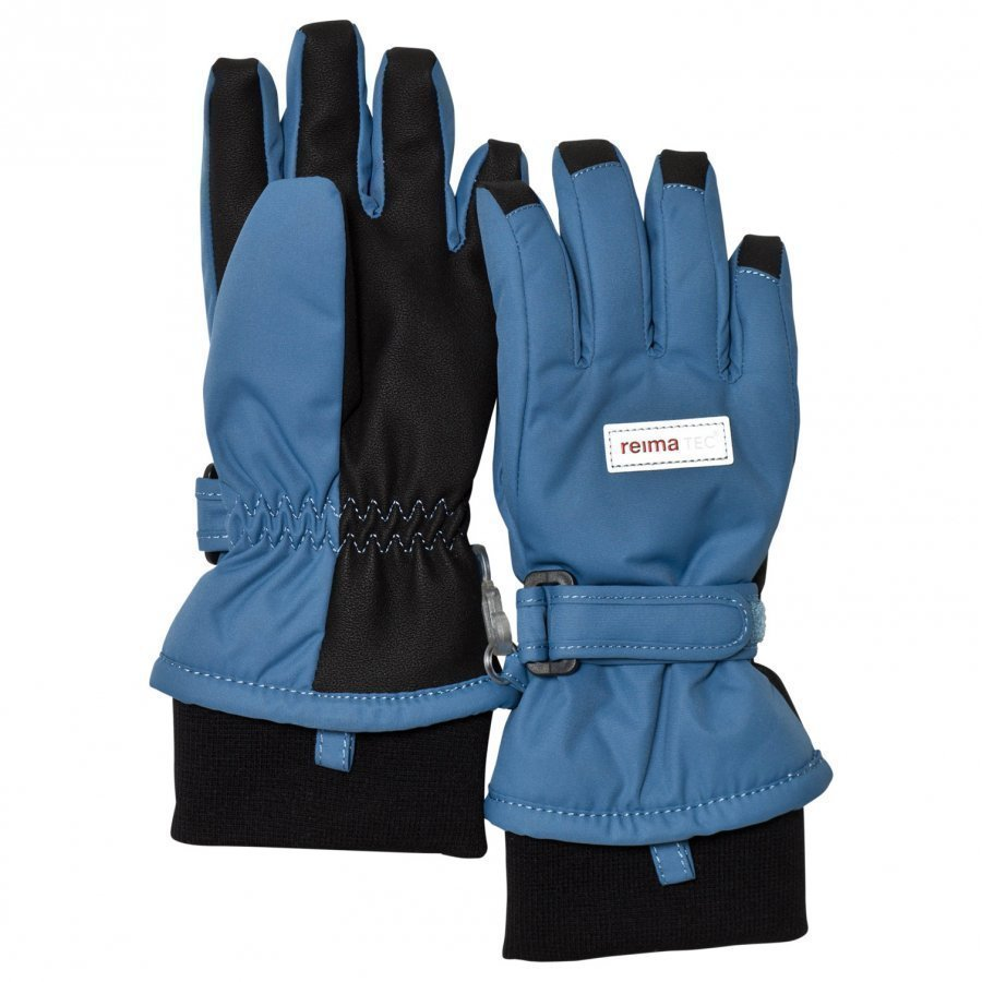 Reima Reimatec Gloves Tartu Soft Blue Fleece Hanskat