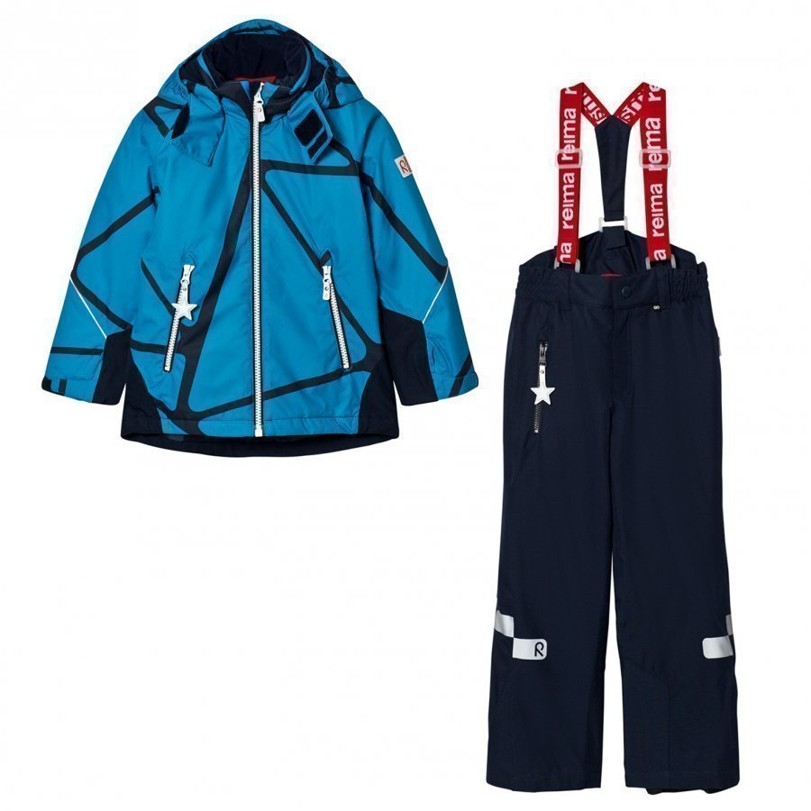 Reima Reimatec Kiddo Winter Set Grane Blue Toppahaalari