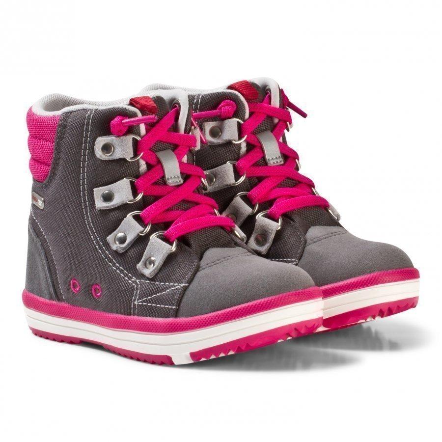 Reima Reimatec Shoes Wetter Wash Soft Grey Korkeavartiset Kengät