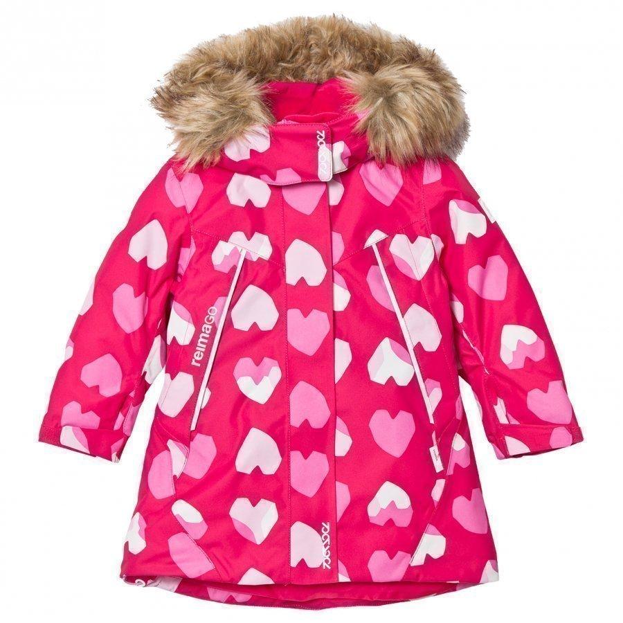 Reima Reimatec Winter Jacket Muhvi Berry Talvitakki
