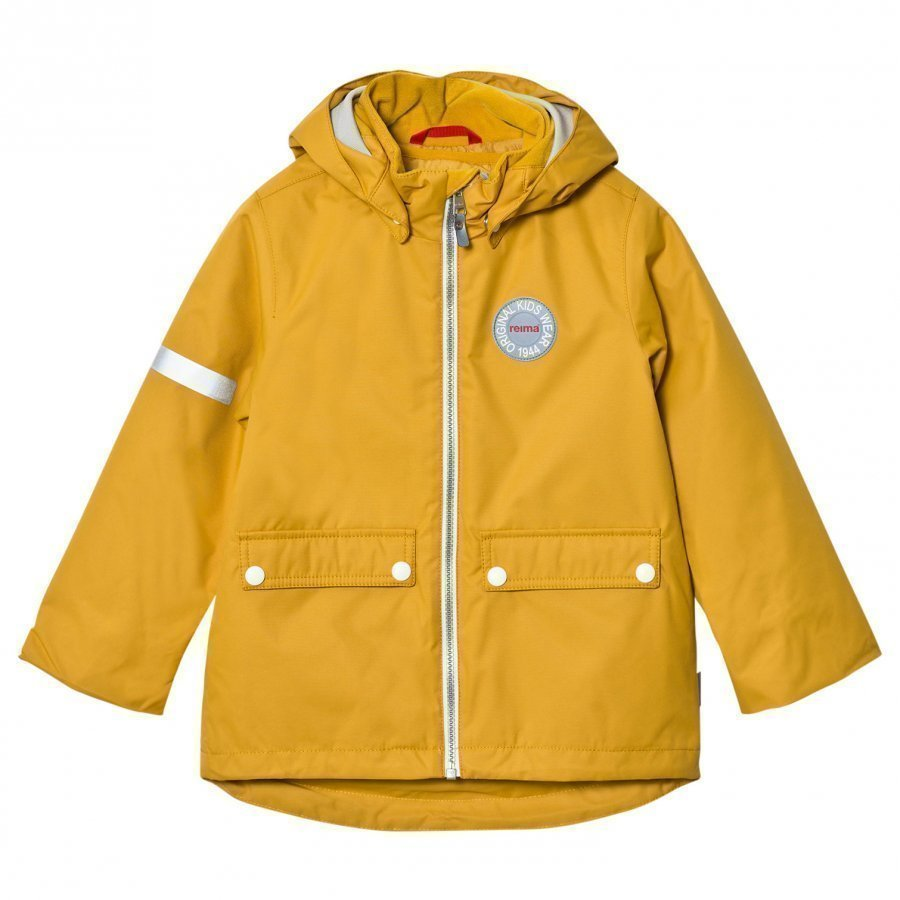 Reima Reimatec Winter Jacket Taag Dark Yellow Kuoritakki