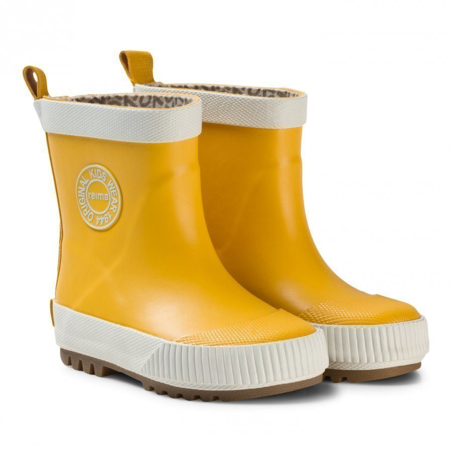 Reima Rubber Boots Taika Yellow Kumisaappaat